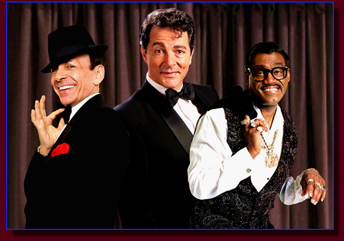 Rat Pack Tribute show for Las Vegas, Los Angeles and the U.S.