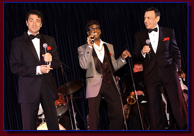 Rat Pack Impersonators seen in Las Vegas, Los Angeles and across America.