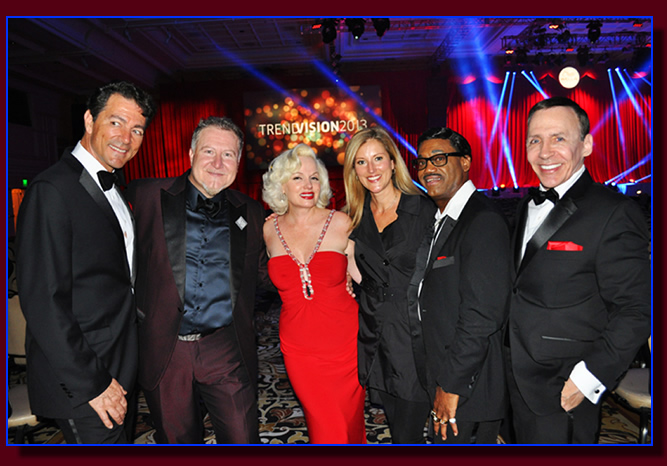 The Rat Pack tribute at the Mirage Las Vegas