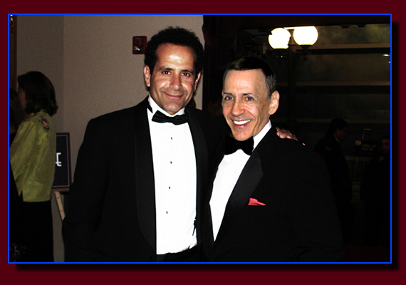 Tony Shalhoub and Monty Aidem in Los Angeles