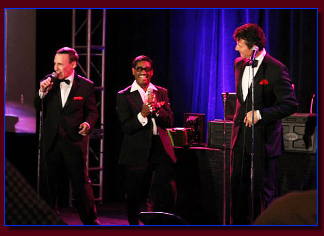 Rat Pack impersonators tribute in Las Vegas