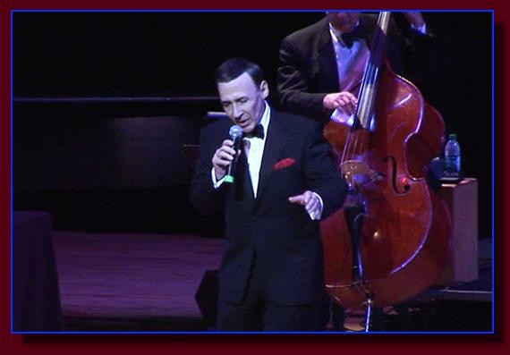 As Sinatra in vintage Las Vegas
