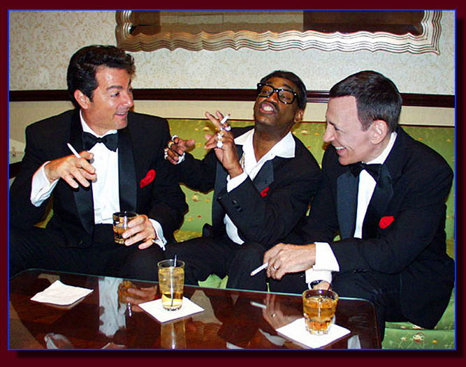 Rat Pack Impersonators in Palm Springs