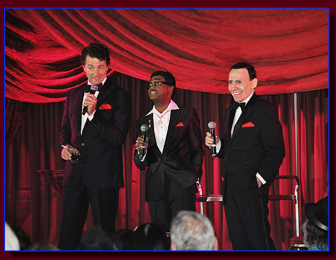 The Rat Pack Tribute to Frank Sinatra, Dean Martin and Sammy Davis Jr. at the Elks Club in Garden Grove CA