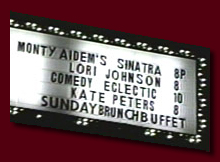 A Sinatra Tribute at the historic Cinegrill, Los Angeles