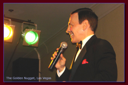 A Frank Sinatra look-alike tribute as seen in San Diego